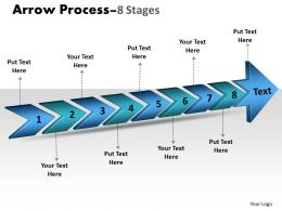 3D Arrow Process 8 Stages 2