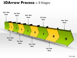 3D Arrow Process 9 Stages 3