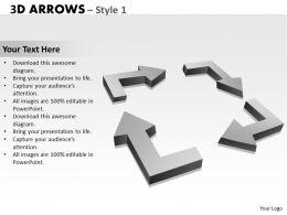 3d Arrows Style 1