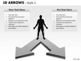 3d Arrows Style 22 2