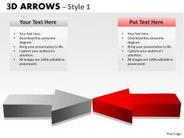3d Arrows Style 2