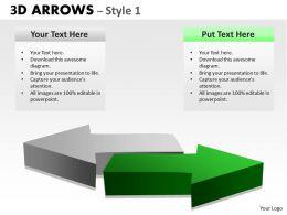 3d Arrows Style 4