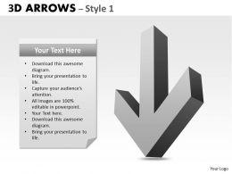 3d Arrows Styli 01