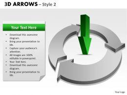3d Arrows Styli 03