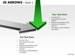 3d Arrows Styli 10