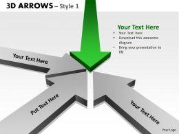3d Arrows Styli 12