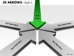 3d Arrows Styli 13