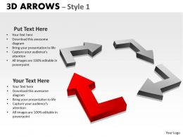 3d Arrows Styli 15