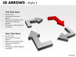 3d Arrows Styli 16