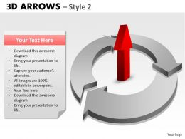 3d Arrows Styli 23
