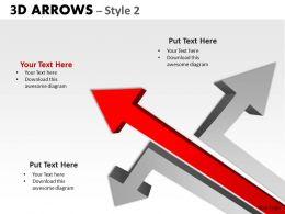 3d Arrows Styli 25