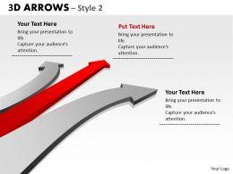 3d Arrows Styli 26
