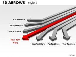 3d Arrows Styli 27