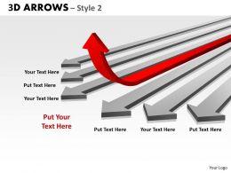 3d Arrows Styli 28