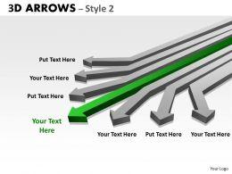 3d Arrows Styli 33