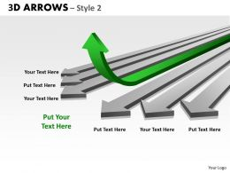 3d Arrows Styli 34