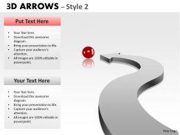 3d Arrows Styli 35