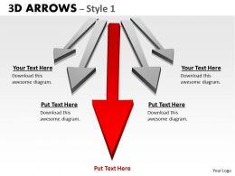 3d Arrows Styli 5
