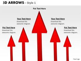 3d Arrows Styli 6