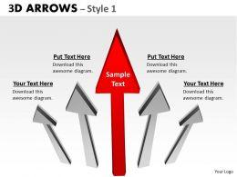 3d Arrows Styli 7