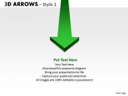 3d Arrows Styli 9