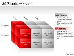 3D Blocks Style 1 PPT 12