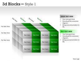 3D Blocks Style 1 PPT 18