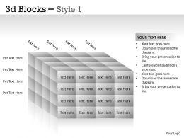 3D Blocks Style 1 PPT 19