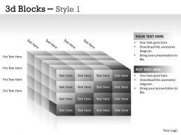 3D Blocks Style 1 PPT 20