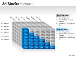 3D Blocks Style 1 PPT 25