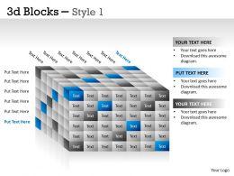3D Blocks Style 1 PPT 26