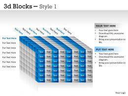 3D Blocks Style 1 PPT 28