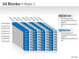 3D Blocks Style 1 PPT 29