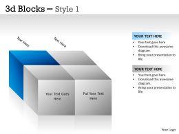 3D Blocks Style 1 PPT 4
