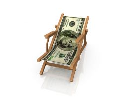 3D Chair Graphic Made By Dollar Stock Photo