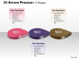 3D Circle Arrow 3 Stages 4