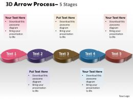3D Circle Arrow 5 Stages 4