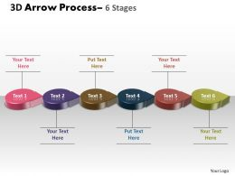 3D Circle Arrow 6 Stages 4