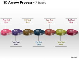 3D Circle Arrow 7 Stages 4