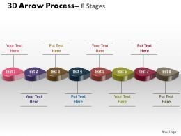 3D Circle Arrow 8 Stages 4