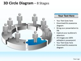 69182262 Style Puzzles Circular 8 Piece Powerpoint Presentation Diagram Infographic Slide