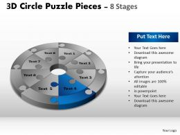 91494565 Style Puzzles Circular 8 Piece Powerpoint Presentation Diagram Infographic Slide