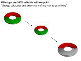 19921149 Style Puzzles Circular 2 Piece Powerpoint Presentation Diagram Infographic Slide