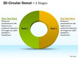 3D Circular Donut 2 Stages 1