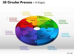 3D Circular ppt Templates 5