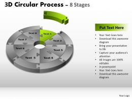 26261269 Style Puzzles Circular 8 Piece Powerpoint Presentation Diagram Infographic Slide