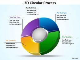 3d circular process templates 1
