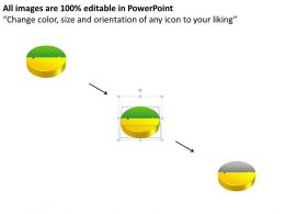 22833940 Style Puzzles Circular 2 Piece Powerpoint Presentation Diagram Infographic Slide