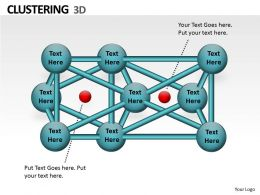 3d Clustering PPT Chart