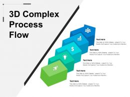 3d Complex Process Flow Example Of Ppt
